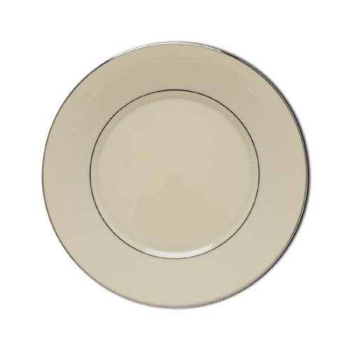 Lenox Maywood Platinum Banded Ivory China Salad Plate