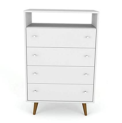 Amazon.com: Hebel Liberty 4 Drawer Media Cabinet | Model ...