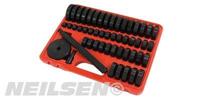 51pc Bearing Bushing and Seal Master Driver Set 18-65mm