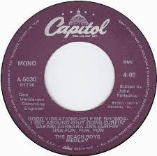 God Medley - Beach Boys