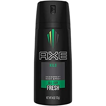 Axe Kilo Deodorant Body Spray 4 oz Pack of 10