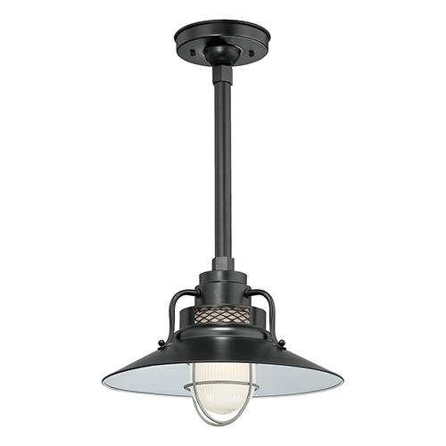 Millennium RRRS14-SB One Light Pendant Black