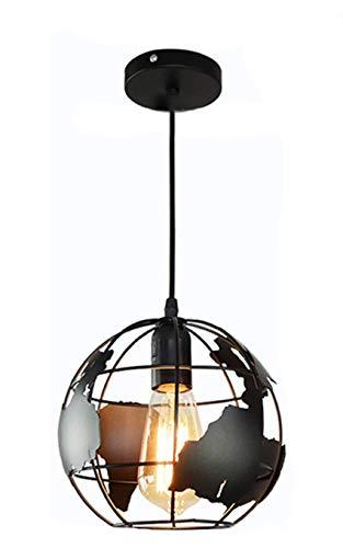 Earth Globe Pendant Light