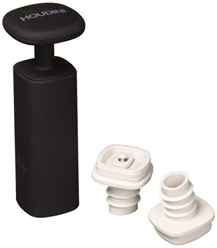 - Houdini H3-013001T Wine Vacuum Preserver, 6