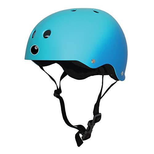8 Ball Bike - Eight Ball Dual Certified Kids Helmet for Bike, Skate, and Scooter, Blue Fade