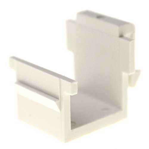 - Pass & Seymour Legrand C-20951-WH Keystone Network Blank, Blank Insert, White, (10 Pack)