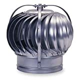 4'' Galvanized Turbine Ventilator by Empire Ventilation Equipment Co., Inc.