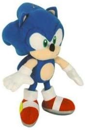 "B0084IEGWI Sonic the Hedgehog 6"" Soft Plush Doll 31rrrtpEyGL."
