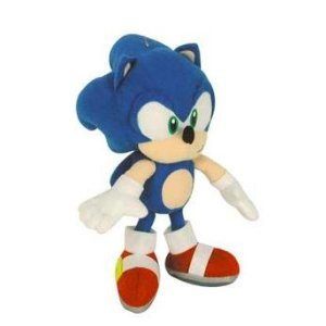 Amazon Com Sonic The Hedgehog 6 Soft Plush Doll Toys Games