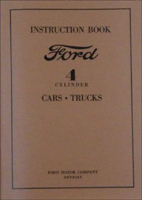 1932 Ford Car and Truck 4-Cyl Owners Manual 32 (with Decal) ()