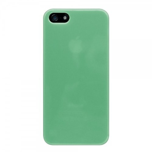 KATINKAS-Cover morbida per Apple iPhone 5, colore: verde