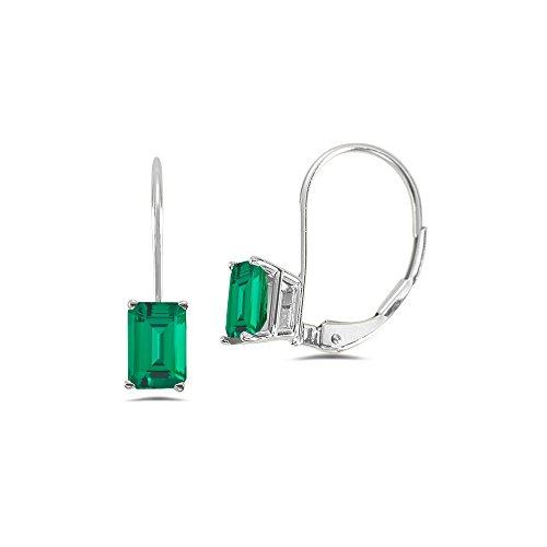 9x7mm Emerald - 8