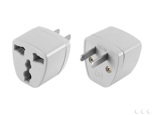 Cellet Power Adapter - Round Pin to Flat Pin (Flat Plug Pin)