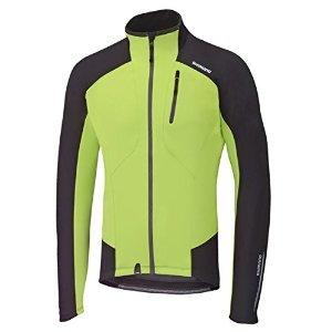 Price comparison product image Shimano 2015 Men's Performance Windbreak Cycling Jacket - ECWJAPWLC12M (Electric Green/Black - M)