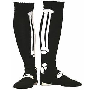 AXO MX Socks (Bonez black, One Size)