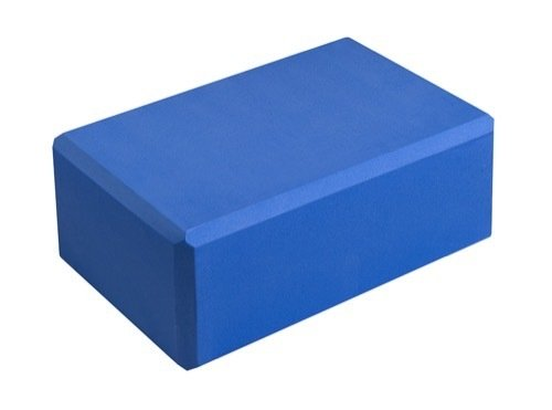 "Hello Fit 4"" Yoga Block (4"" x 6"" x 9"") - Studio 10 Pack (Blue)"
