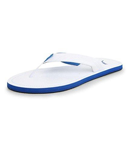 4ee2d34f9f4b06 Puma Men s Ketava Iii Dp White and French Blue Hawaii Thong Sandals - 11 UK