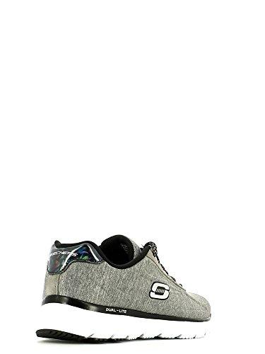 Skechers , Chaussons de gymnastique pour femme - Gris - Grigio, 41 EU EU