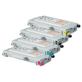 Toner Yellow Compatible Tn04y - Brother TN04 Remanufactured Compatible Toner Cartridge - Full Color Set