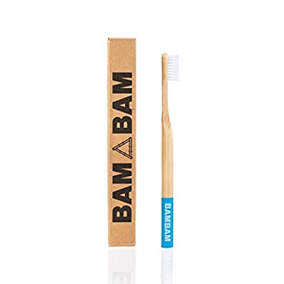 Bamboo Toothbrush, Eco Friendly, Natural, Wooden - by Bam Bam People