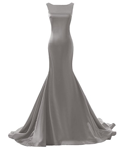 Backless Strapless Prom Dress - 9