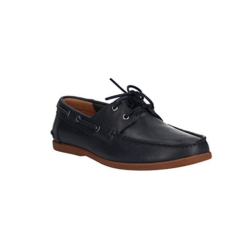 Morven Navy Nero Leather Sail Clarks zAwxq7407