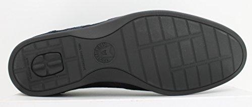 Mephisto - Zapatos De Cordones De Ante De Stefano, Para Hombre, 3655, Azul, Ante