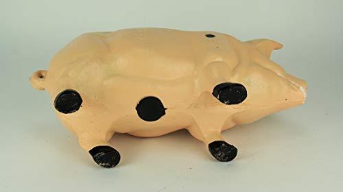 Pink Pig Piggy Bank X-Large - Door Stop - Garden - Cast Iron by PIGGYBANK (Image #3)