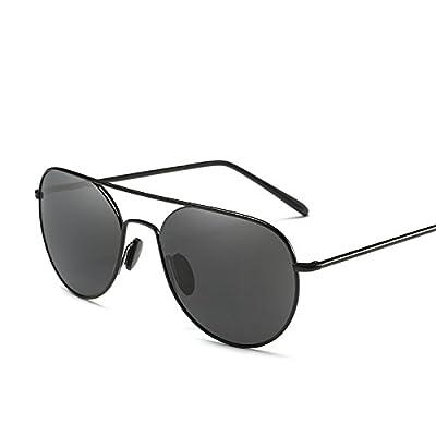 LXKMTYJ Rétroviseur conducteur confort de conduite Chosho Lunettes Noires lunettes polarisées Personnalité Toad, une boîte noire sur les languettes noires