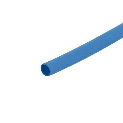 1 Thermal Shrink Tube Electrical Insulation Tube Wire Cable Blue wrap Tube Blue 0.6mm Diameter 1m Length 2