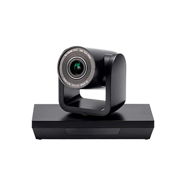 Workstream by Monoprice PTZ Conference Camera Pan and Tilt with Remote 1080p Webcam USB 30 3X Optical Zoom