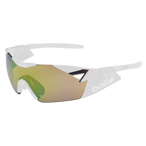 Bolle 6th Sense Sunglass Replacement Lenses, Emerald/Brown ()