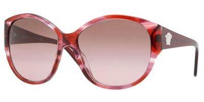 Versace 4208 Pink / Striped Violet / Brown Gradient Pink - Gradient Violet