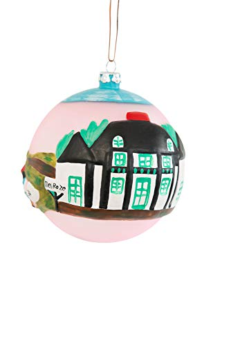 The Clementine Hunter Collection-Collectible Christmas Ornaments, Hand Sculpted and Painted, Hand Blown Glass, Handmade - A Day at Melrose Plantation 4