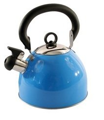 3.5ltr Whistling Kettle Camping Home Fishing Purple Stainless Steel Kettle New