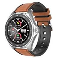 "Smartwatch Blitzwolf BW-HL3 Bluetooth, Tela HD 1.3"", Full Touch, IP68, Monitor Spo2² (Prata)"