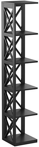 Tier Black Bookcase - 9