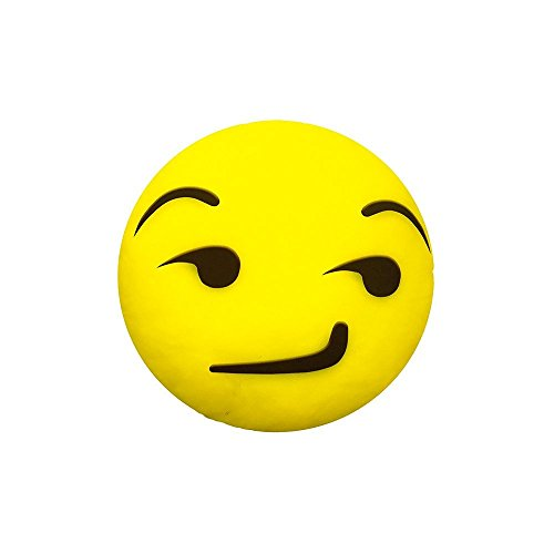 Almofada Emoji 34cm - Sarcastico