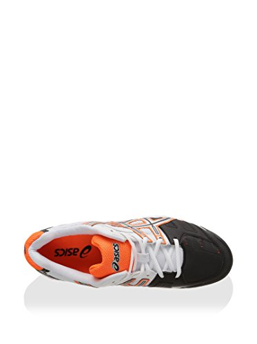 Asics Zapatillas de Tenis Gel-Game 4 Blanco / Negro / Naranja EU 43.5 (US 9.5)