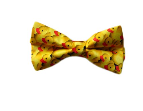 Yellow Men's Bow One Bowtie Size Ducky Man Rubber Tie Danggi Duck 5xwFp8xq