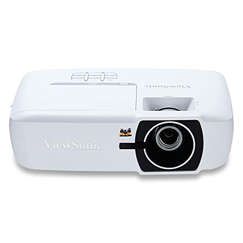 ViewSonic 1080p Projector with RGBRGB Rec 709 DLP 3D Dual HDMI 22,000:1 Contrast and Low Input Lag for Home Theater and Gaming (PX725HD)