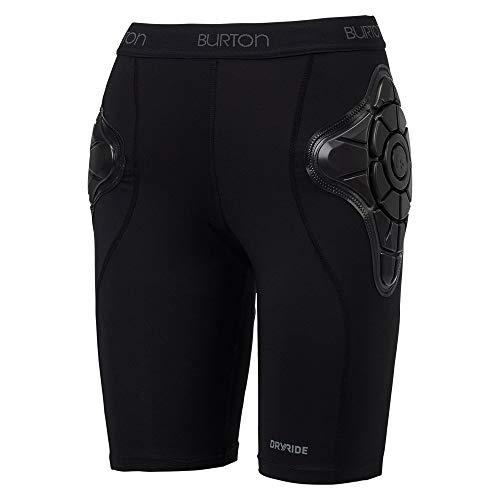 Burton Women's Total Impact Padded Shorts (True Black, Medium) ()