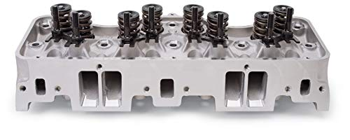 (Edelbrock 60819 Performer Series RPM Cylinder Head Complete Single 58-65 Chevy Big Block 348/409 W Series Engines 220cc/115cc Int./Exh. Port Vol. 400-600 HP Standard Port Location Performer Series RPM Cylinder Head)