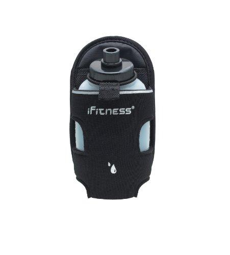 iFitness Inc Hydration Add-On Bottle, Black, 8 Oz/240ml/Single