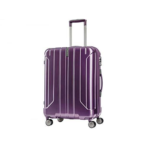 Samsonite Near Spinner 78/29 exp Ladies Large Purple Polypropylene Luggage Bag TSA Approved AY8093003