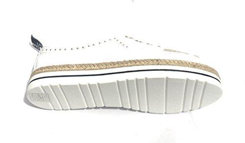 Ville de Lacets Blanc à MOSCHINO Femme Pour Chaussures Bianco HzqEE5w