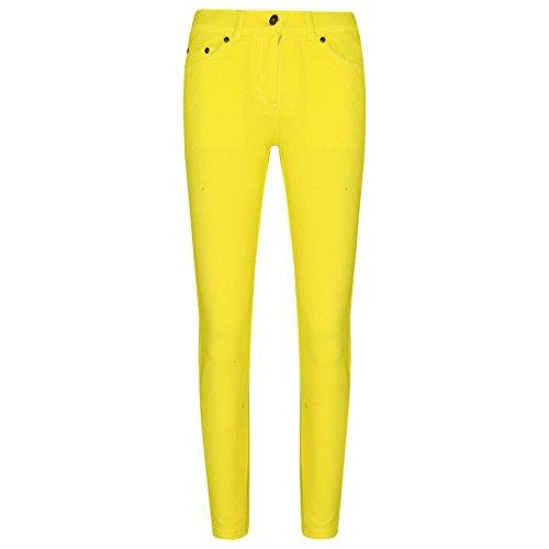 A2Z 4 Kids® Girls Skinny Jeans Kids Lemon Stretchy Denim Jeggings Fit Pants Trousers 5-13 Yr by A2Z 4 Kids®