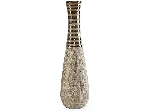 LAUREN Moderne Deko Vase aus Keramik 14x49 cm