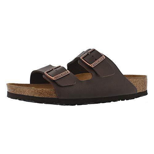 - Birkenstock Women's Arizona  Birko-Flo Brown Sandals - 37 M EU / 6-6.5 B(M) US