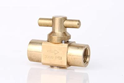 High Pressure Brass Shut-off Valve for Carpet Cleaning Equiptment